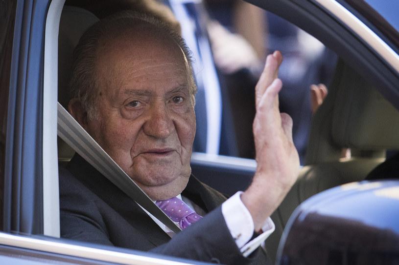 Były król Hiszpanii Juan Carlos; zdjęcie z 2018 roku /AFP
