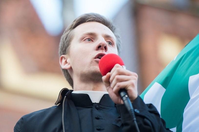 Były ksiądz Jacek Międlar, zdj. archiwalne /Maciej Witkowski /Reporter
