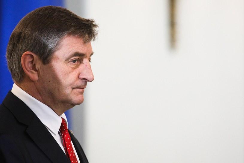 Były marszałek Sejmu Marek Kuchciński /Andrzej Hulimka  /Agencja FORUM