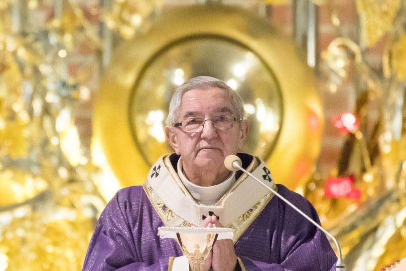 Były metropolita gdański abp Sławoj Leszek Głódź /Wojciech Stróżyk /Reporter