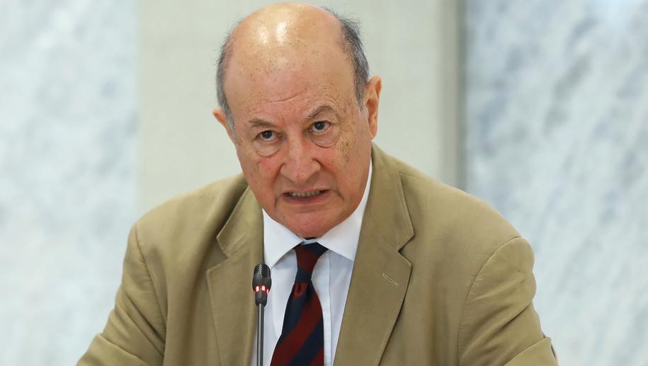 Były minister finansów Jacek Rostowski przed komisją ds. VAT /Rafał Guz /PAP