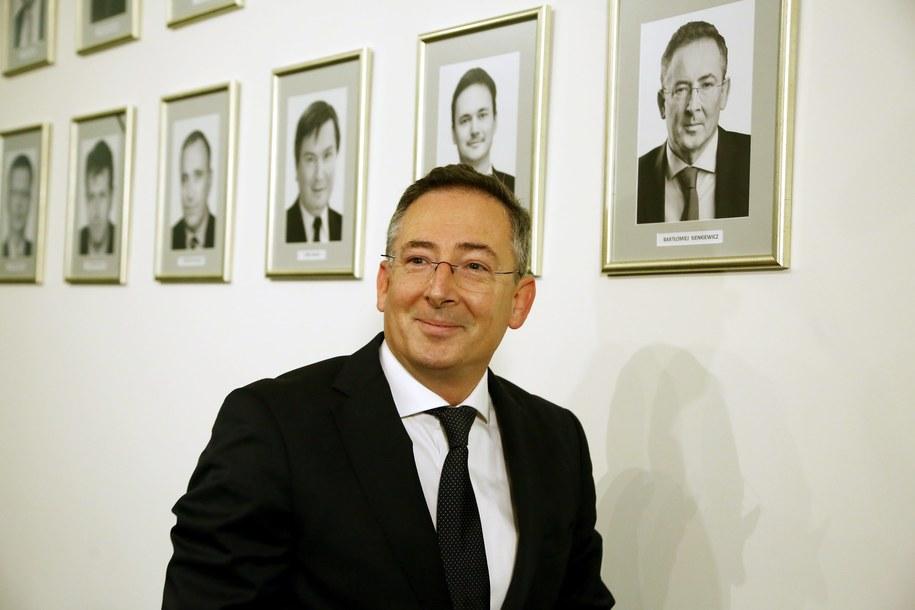 Były minister spraw wewnętrznych Bartłomiej Sienkiewicz /Tomasz Gzell /PAP
