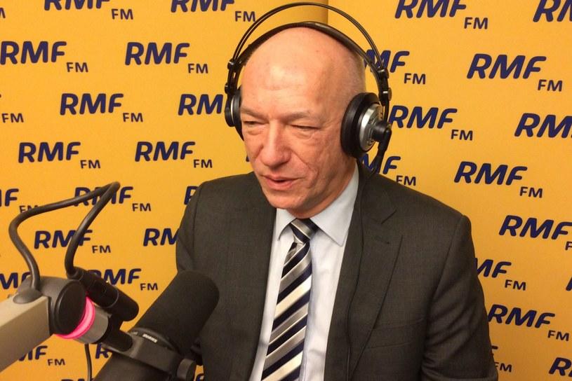 Były minister sprawiedliwości Zbigniew Ćwiąkalski /Monika Kamińska (RMF FM) /RMF FM