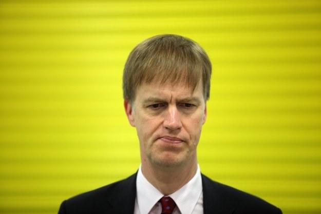 Były minister Timms został pchnięty nożem /AFP