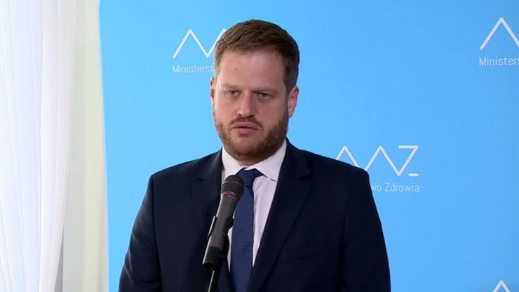 Były minister zdrowia Janusz Cieszyński /Polsat News