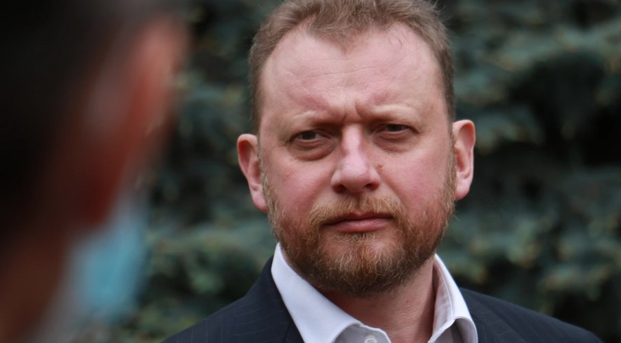 Były minister zdrowia Łukasz Szumowski /RMF FM
