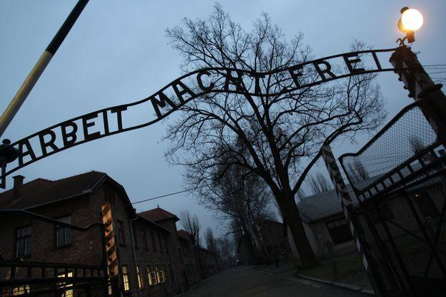 Były nazistowski obóz Auschwitz /AFP