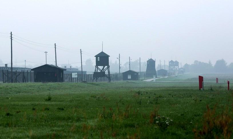 Były niemiecki obóz koncentracyjny na Majdanku /Tomasz RYTYCH /Reporter