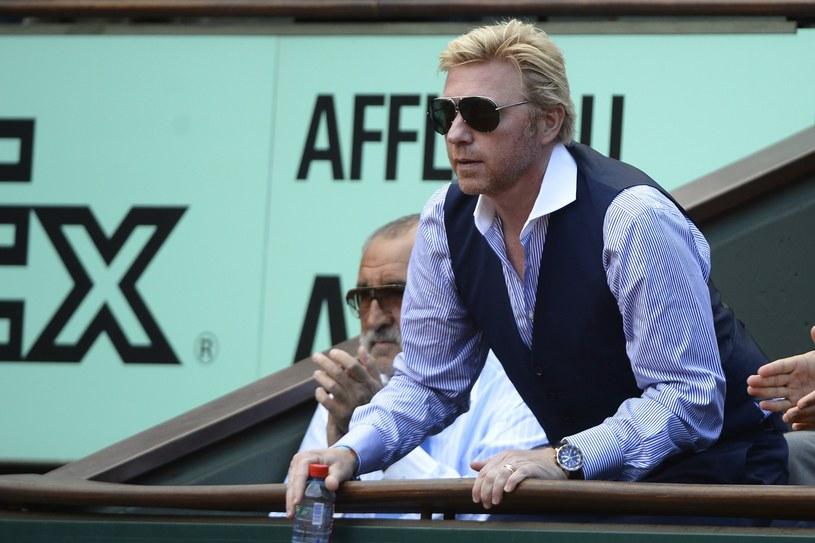 Były niemiecki tenisista Boris Becker /AFP