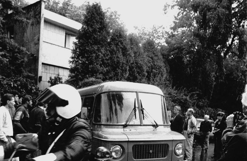 Były peerelowski premier Piotr Jaroszewicz i jego żona Alicja Solska-Jaroszewicz zostali zamordowani w 1992 roku w ich willi przy ulicy Zorzy w warszawskim Aninie /Grażyna Wójcik /Agencja SE/East News
