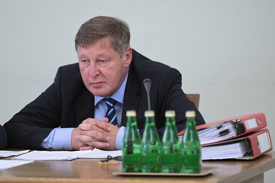 Były podsekretarz stanu w Ministerstwie Finansów Andrzej Parafianowicz /Marcin Obara /PAP