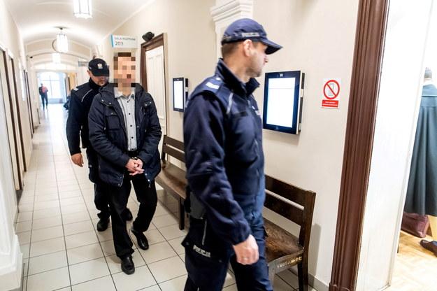 Były policjant Krzysztof G. w sądzie /\Tytus Żmijewski /PAP