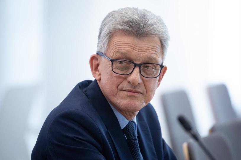 Były poseł PiS, dziś sędzia TK Stanisław Piotrowicz /Mateusz Wlodarczyk /Agencja FORUM