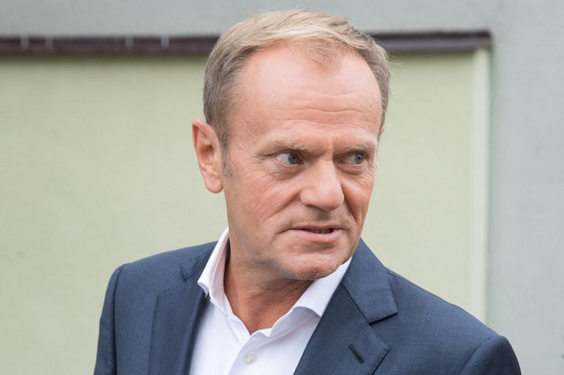 Były premier Donald Tusk /Wojciech Strozyk/ /Reporter