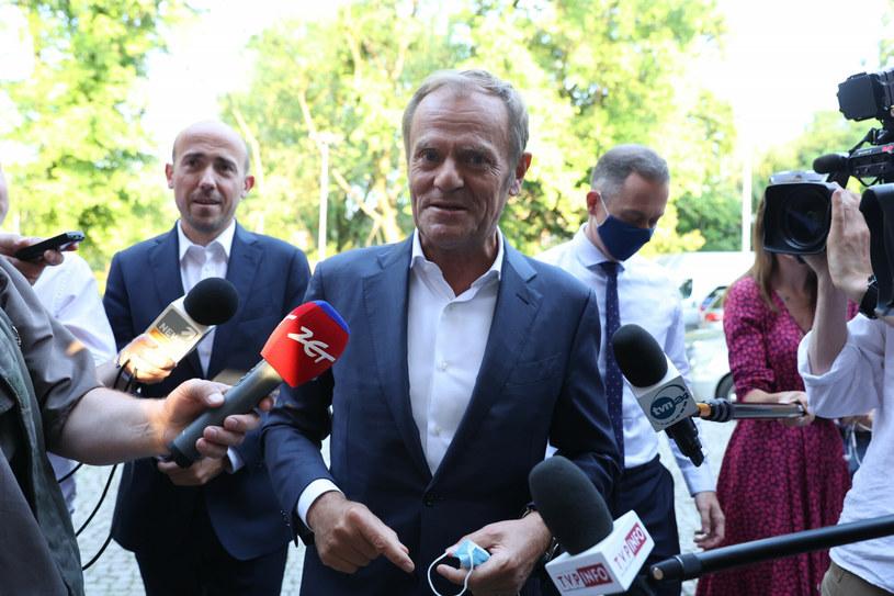 Były premier Donald Tusk / Fot. Andrzej Iwanczuk /Reporter