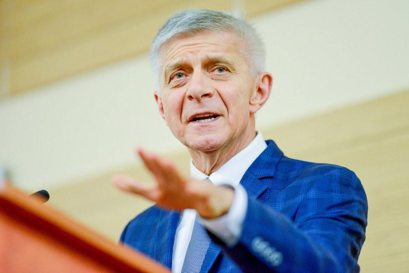 Były premier, europoseł SLD prof. Marek Belka /Piotr Kamionka /Reporter