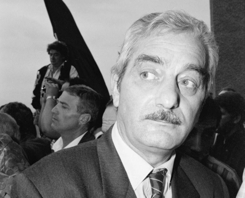 Były premier Gruzji Tengiz Sigua, 1991 r. /Wojtek Laski /East News