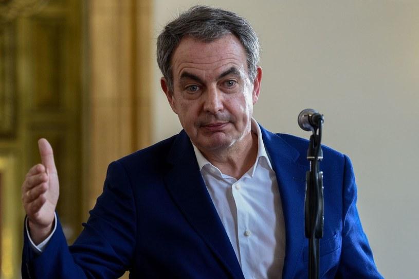 Były premier Hiszpanii Luis Rodriguez Zapatero /AFP