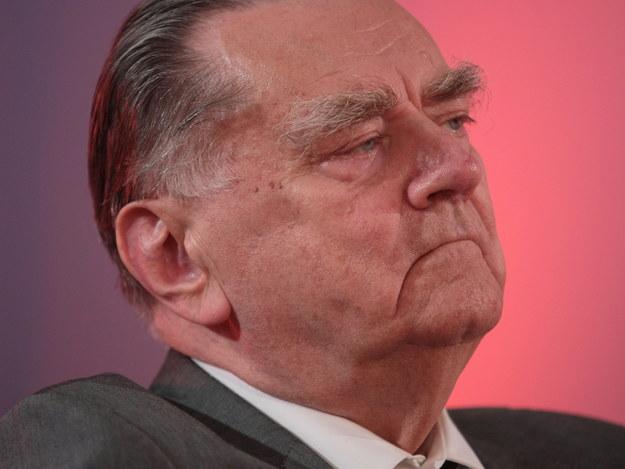 Były premier Jan Olszewski trafił do szpitala