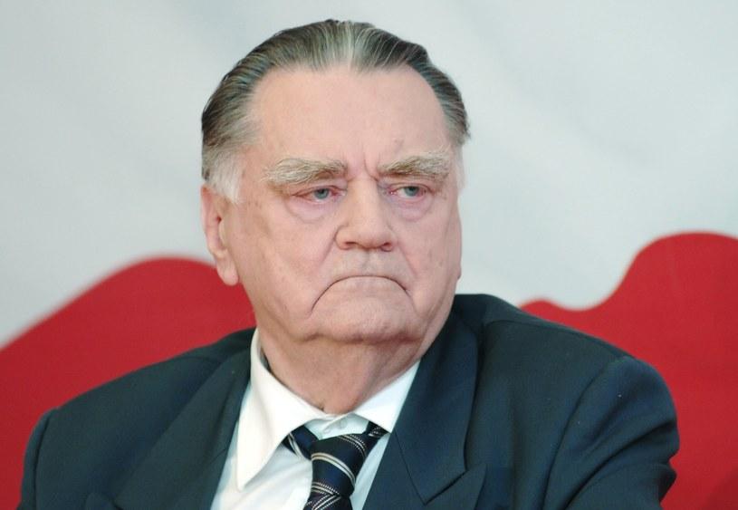 Były premier Jan Olszewski /Piotr Gamdzyk /Reporter