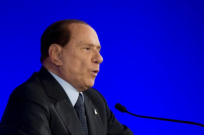 Były premier Włoch Silvio Berlusconi trafił do szpitala z powodu niewydolności serca /David Ramos /Getty Images