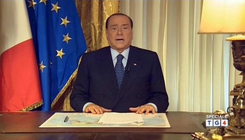 Były premier Włoch Silvio Berlusconi /PAP/EPA