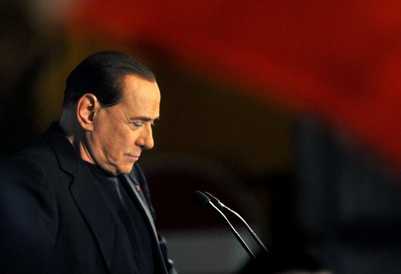 Były premier Włoch Silvio Berlusconi. /AFP
