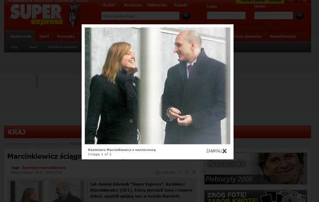 Były premier z Isabel  /se.pl
