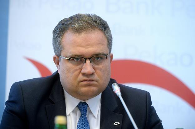 Były prezes Pekao SA Michał Krupiński. Fot. Jan Bielecki /Agencja SE/East News