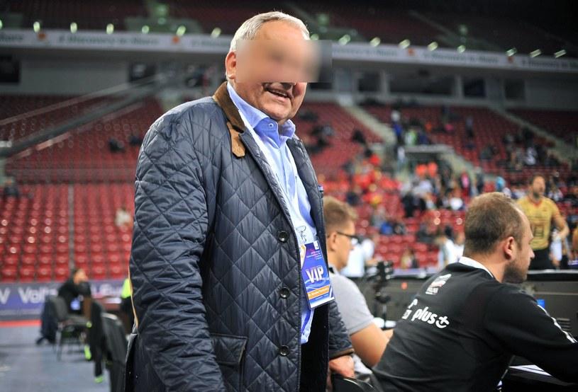 Były prezes PZPS Mirosław P. /Fot. Łukasz Laskowski /Newspix