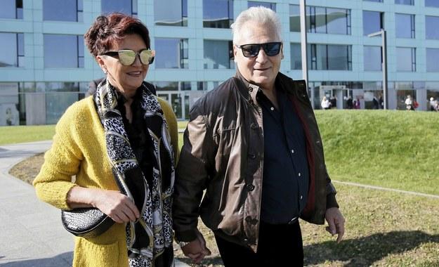 Były prezydent Aleksander Kwaśniewski i jego żona Jolanta /Leszek Szymański /PAP