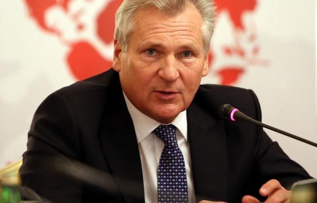 Były prezydent Aleksander Kwaśniewski w Warszawie, 24 października 2012 /PAP