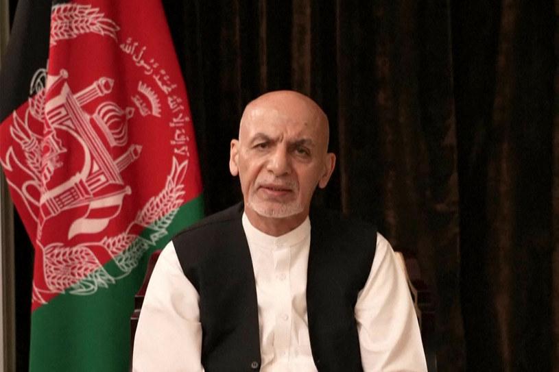 Były prezydent Aszraf Ghani /AFP /East News