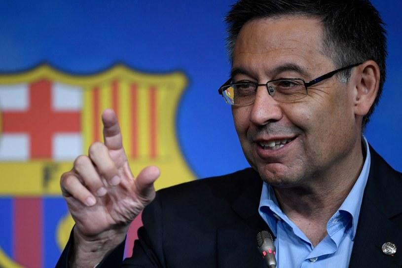Były prezydent Barcelony Josep Maria Bartomeu /AFP
