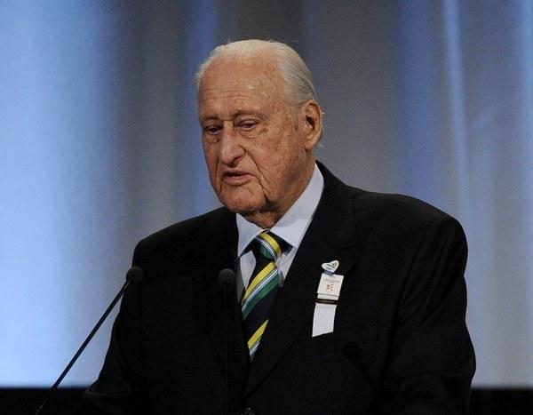 Były prezydent FIFA Joao Havelange /- /AFP