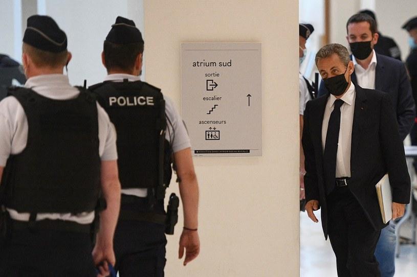 Były prezydent Francji Nicola Sarkozy w sadzie /AFP