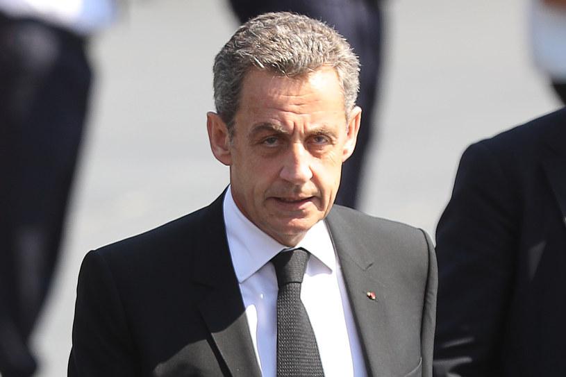 Były prezydent Francji Nicolas Sarkozy został zatrzymany przez policję /VALERY HACHE /AFP
