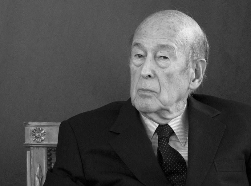 Były prezydent Francji Valery Giscard d'Estaing zmarł w środę w wieku 94 lat /IAN LANGSDON /PAP/EPA