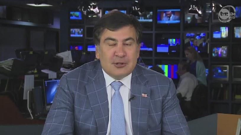 Były prezydent Gruzji ostrzega przed Putinem /TVN24/x-news
