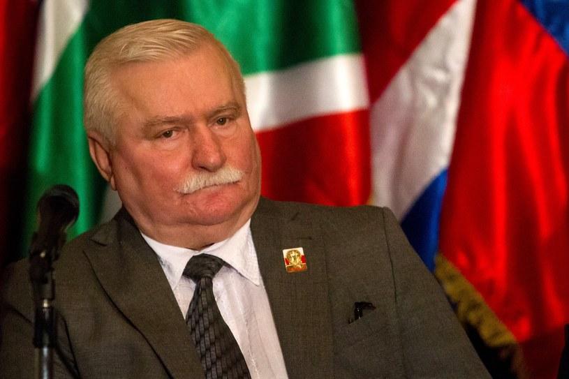 Były prezydent Lech Wałęsa /PAP/EPA