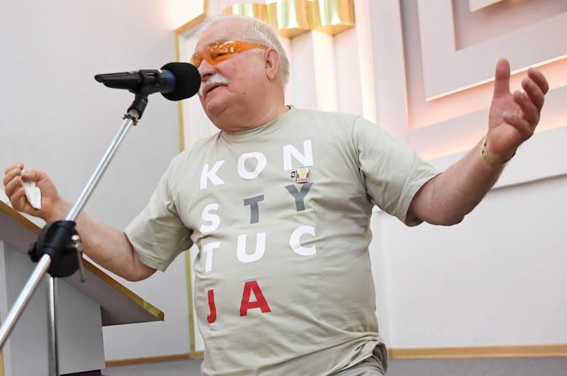 Były prezydent Lech Wałęsa /Piotr Nowak /PAP