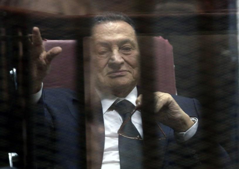Były prezydent Mubarak ma zostać uwolniony /PAP/EPA