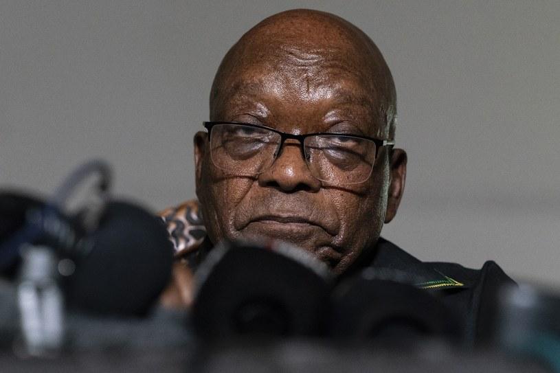 Były prezydent RPA Jacob Zuma /Associated Press /East News