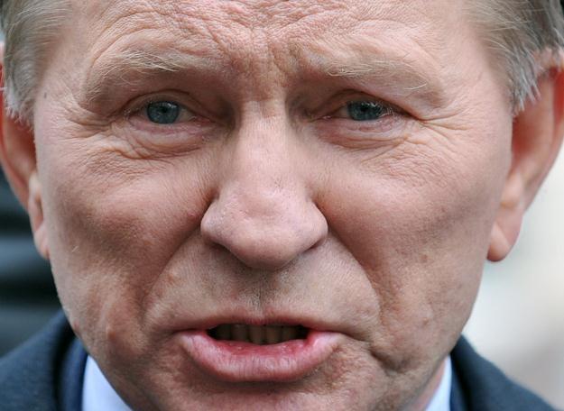 Były prezydent Ukrainy Leonid Kuczma /AFP