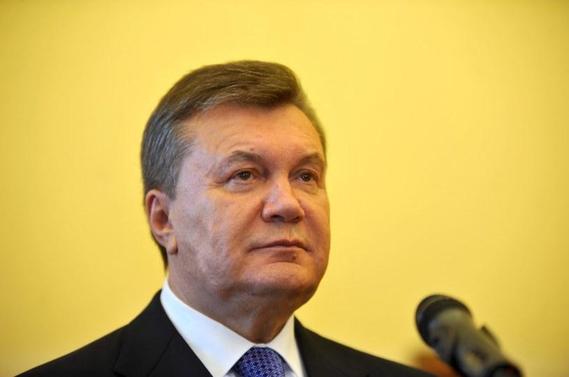 Były prezydent Ukrainy Wiktor Janukowycz /M.Lasyk/REPORTER /East News