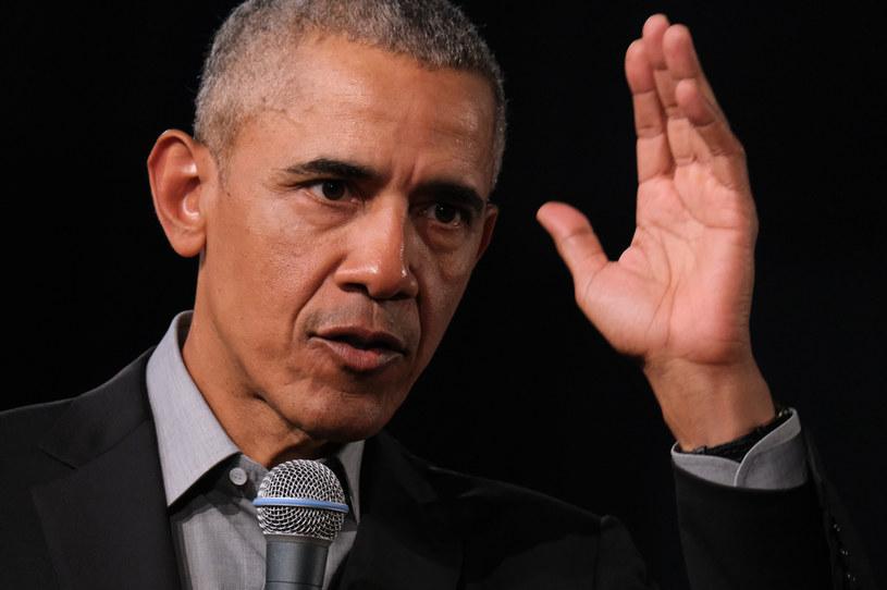 Były prezydent USA Barack Obama /Sean Gallup /Getty Images