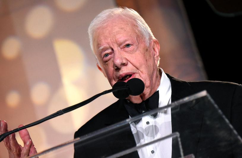 Były prezydent USA Jimmy Carter /AFP