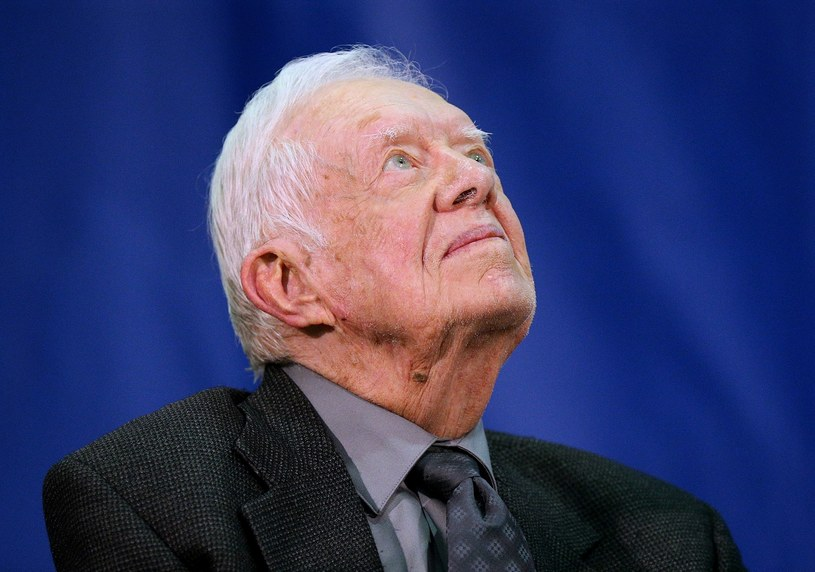Były prezydent USA Jimmy Carter /Curtis Compton/Atlanta Journal-Constitution/TNS/Sipa USA /East News