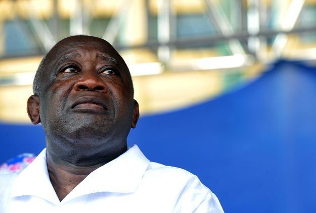 Były prezydent Wybrzeża Kości Słoniowej Laurent Gbagbo /AFP