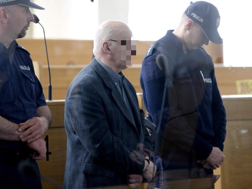 Były prezydent Zabrza Jerzy G. podczas ogłaszania wyroku przed Sądem Okręgowym w Katowicach /PAP
